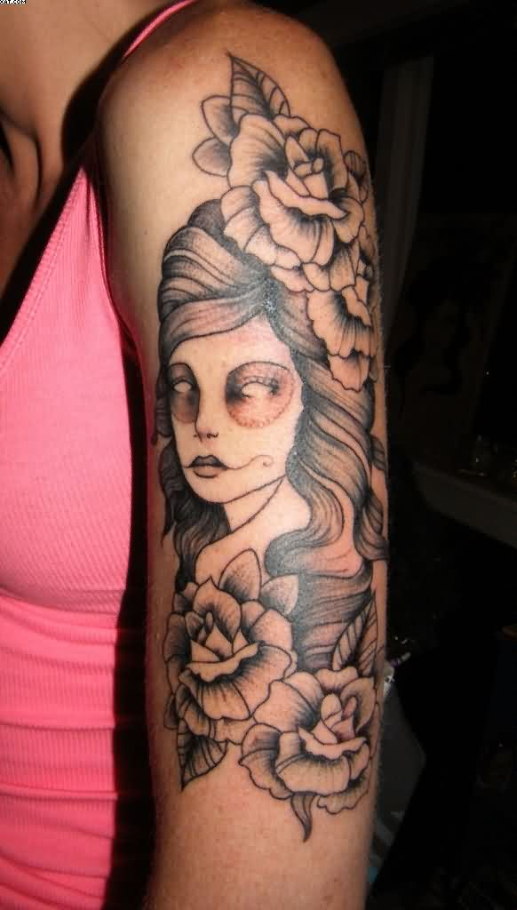 Amazing Arm Tattoo For Girls