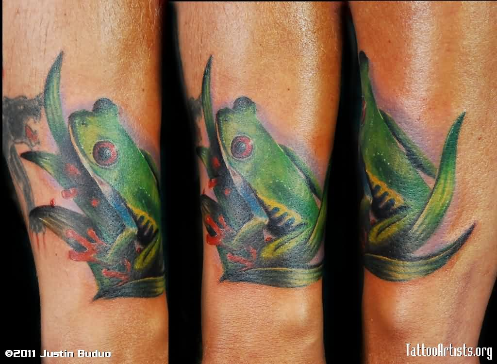 Awesome Frog Tattoos