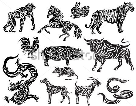 Pics Photos  Chinese Zodiac Ankle Tattoo Designs