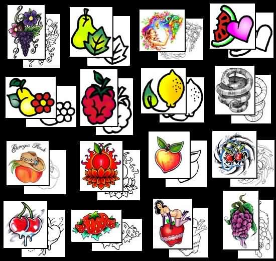 Choose Fruit Tattoo Designs