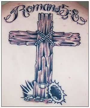 Cross Remembrance Tattoo