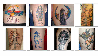 Egyptian Tattoo Pictures