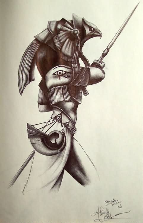 Egyptian warrior tattoos egyptian tattoos designs and ideas page 2