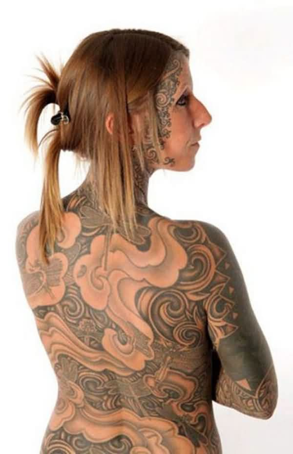 Entire Body Tattoos For Modern Girls