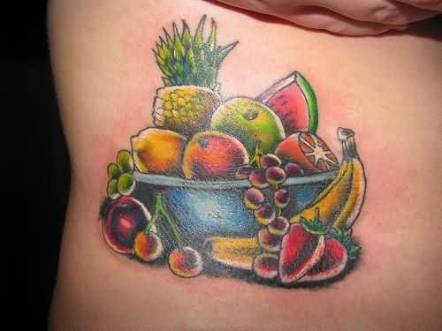 Fruit Basket Tattoo