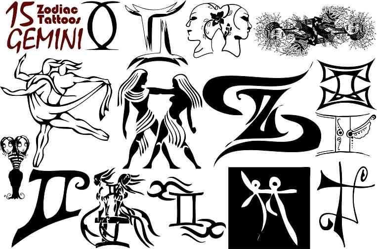 Gemini Tattoos Designs And Ideas  Page 2
