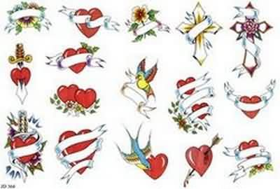 Heart Tattoos Designs And Ideas  Page 3