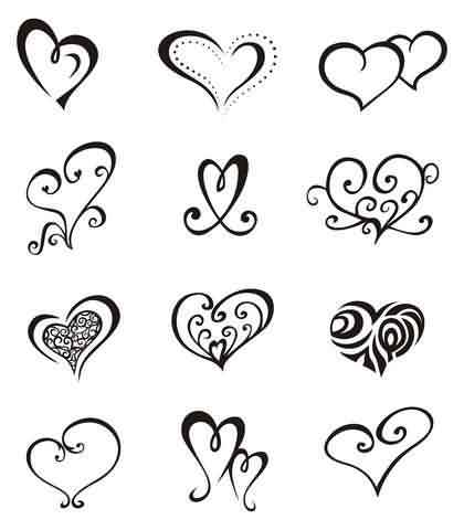 Heart Tattoo Pack