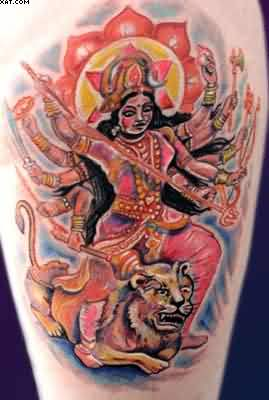Hindu Goddess Tattoo