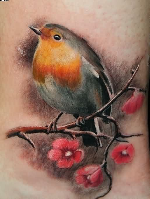 Lovely Bird Tattoo