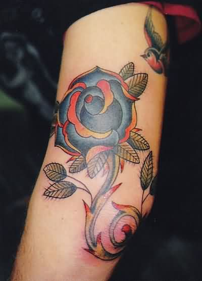 Lovely Elbow Tattoo
