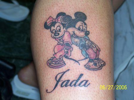 Mickey Couple Tattoo