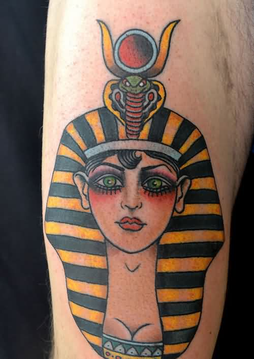 Nice Ancient Egyptian Tattoo Art
