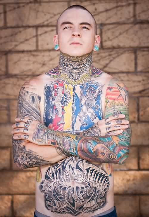 Amazing Full Body Tattoos For Guys