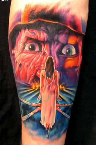 Nightmare Horror Tattoo