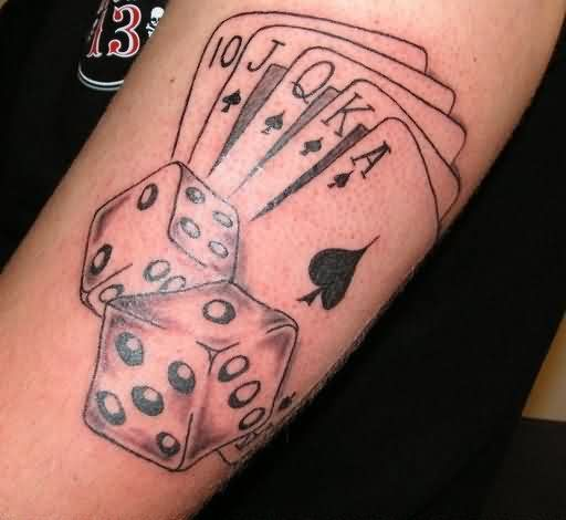 Gambling Tattoos Designs And Ideas Page 3