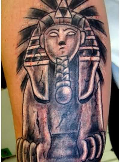 The Egyptian Sphinx Tattoo