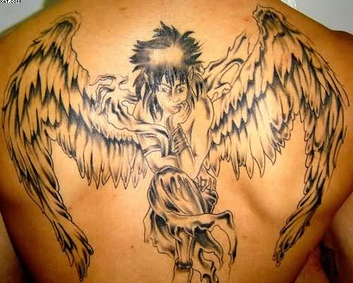 The Popular Angel Tattoo Design