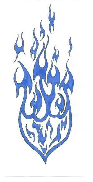 Fire amp Flame Tattoos Designs And Ideas