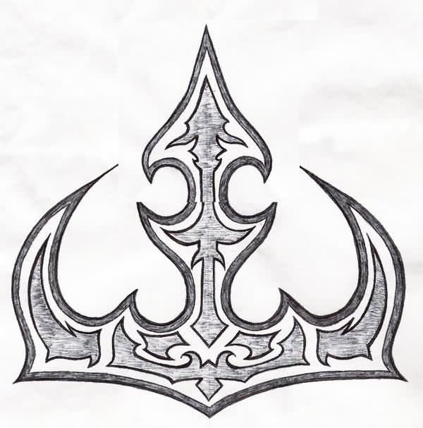 Queen Crown Tattoos Tribal Tribal Crown Tattoo Sketch