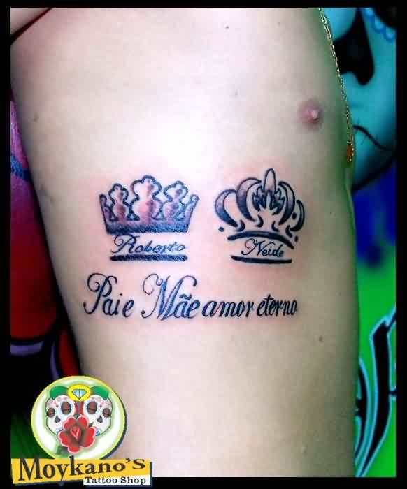 Two Crown Tattoos