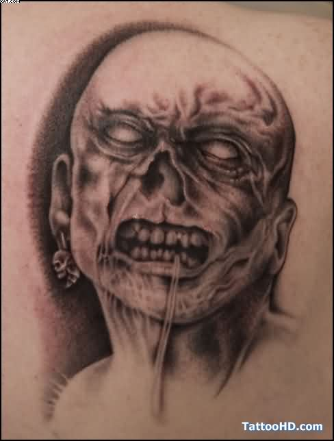 A Very Dangerous Zombie Tattoo