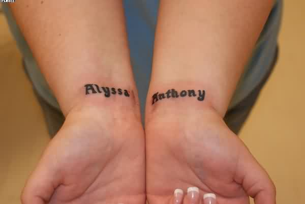 Alyssa Anthony Wrist Tattoos