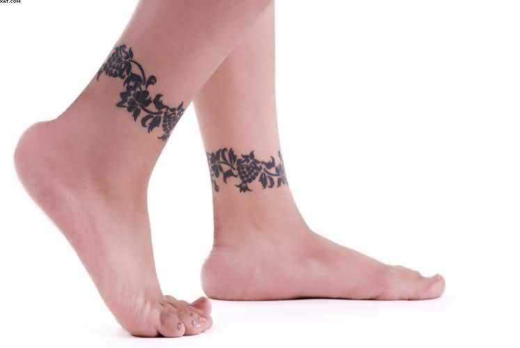 Amazing Ankle Tattoos For Women