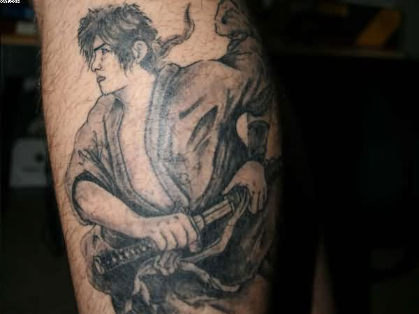 Amazing Ninja Warrior Tattoo