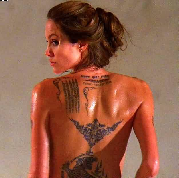 Angelina Jolie Tattoos For Women