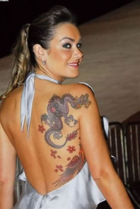 Awesome Dragon Tattoos For Women
