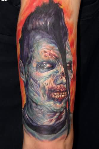 Brilliant Zombie Tattoo
