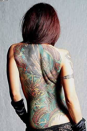 Dragon Tattoos For Hot Women