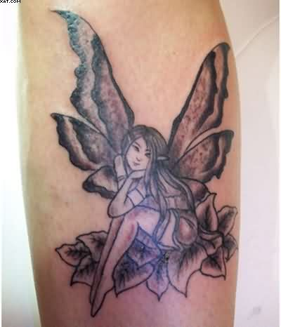 Fairies With Butterfly Wings Tattoo