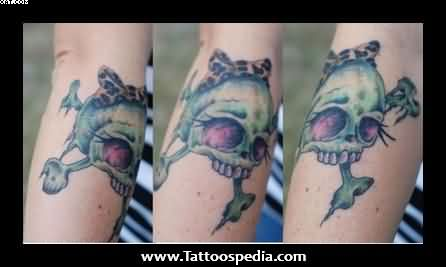 Girly Zombie Tattoo