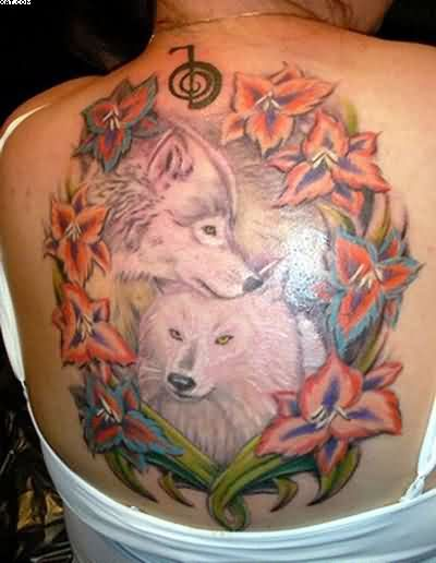 Howling Wolf Tattoos For Women