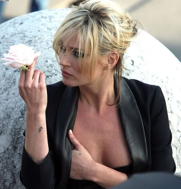 Kate Moss Wrist Anchor Tattoo