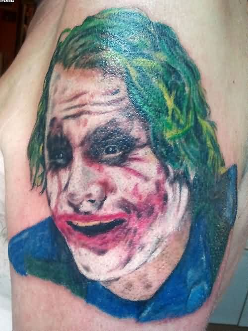 Mad Joker Tattoo
