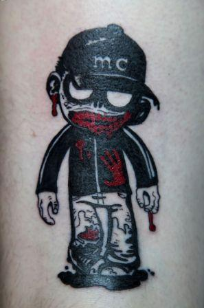 MC Chris Zombie Tattoo
