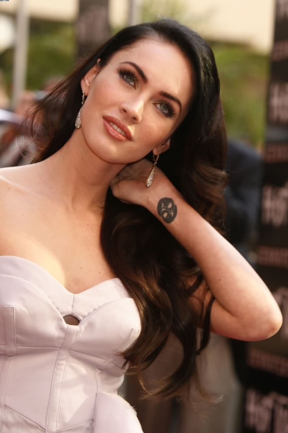 Megan Fox Wrist Tattoo For Women
