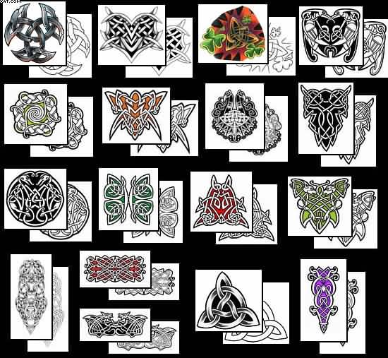 More Celtic Knot Tattoo Designs