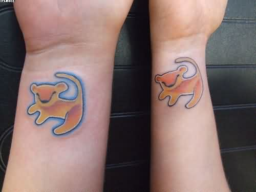 Nice Animated Tattoos On Wrists