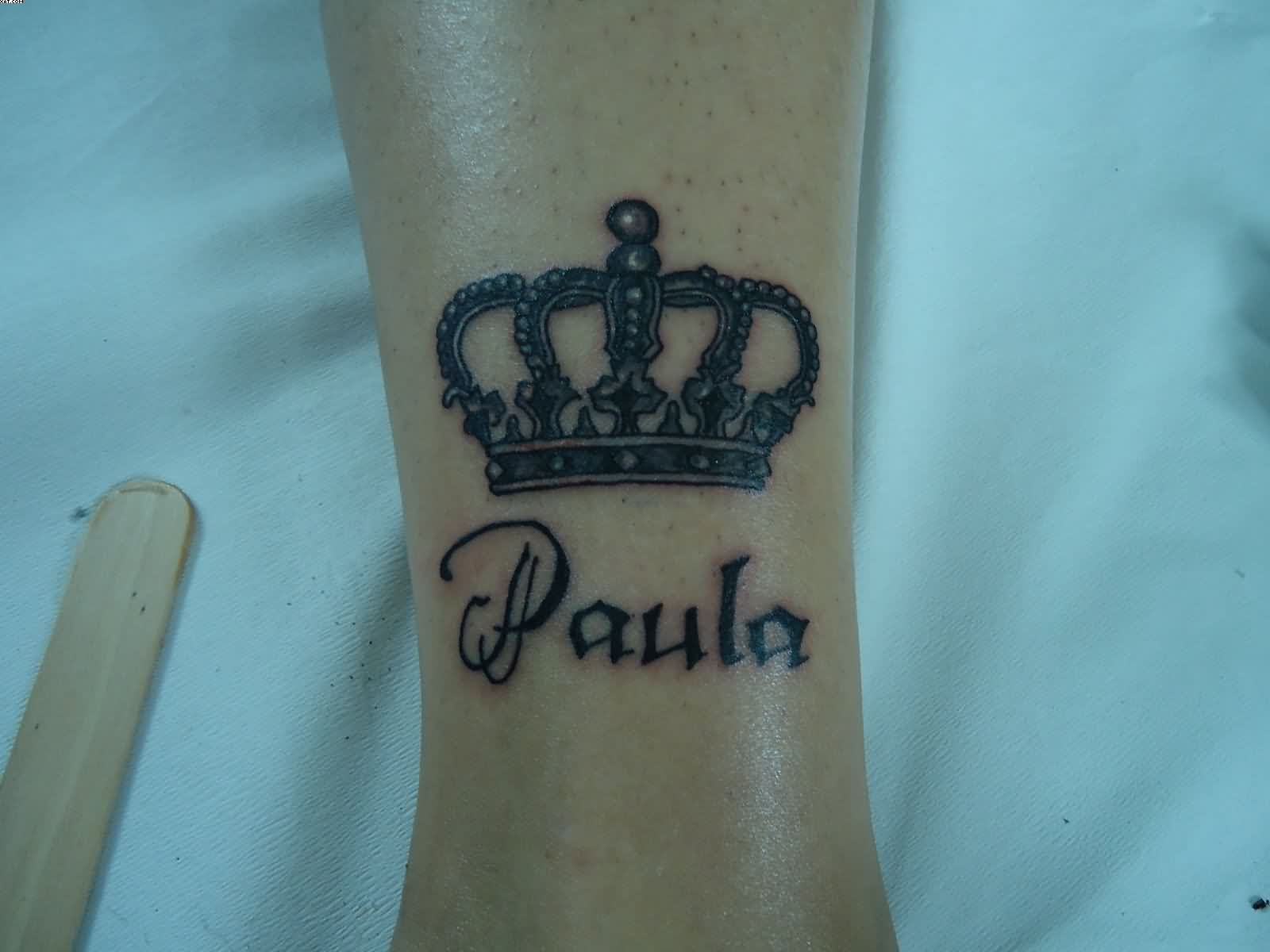 Nice King Crown Tattoo