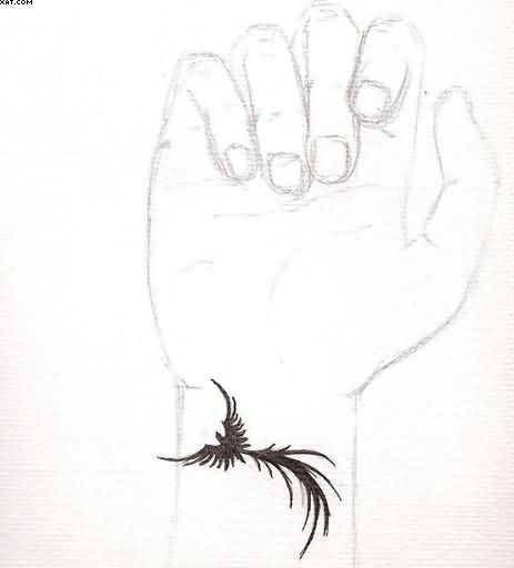 Pheonix Tattoo Idea On Wrist