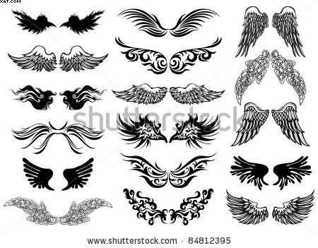 Wings tattoos designs and ideas page 7