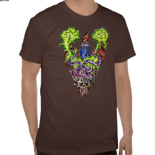 Wizard Tattoo T-Shirt