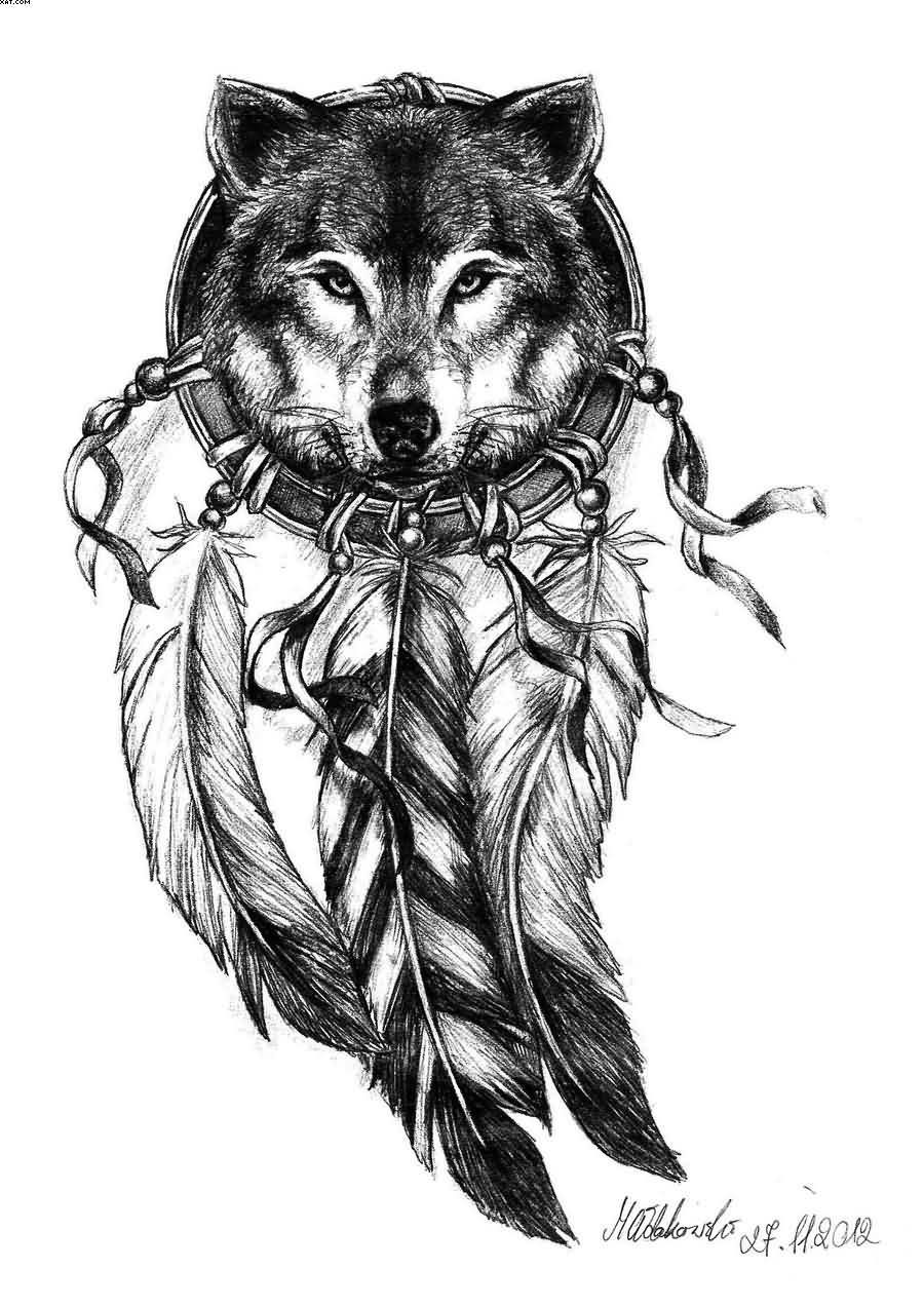 Native American Wolf Paw Tattoo Images amp Pictures Becuo