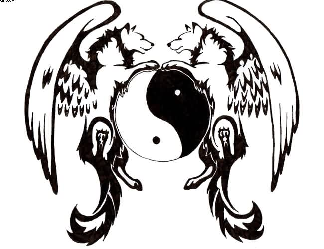 Ying Yang Tattoos Designs And Ideas Page 34