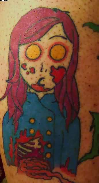 Wonderful Celebrity Zombie Tattoo