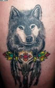 Wonderful Wolf Tattoo